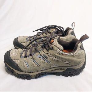 Merrell Waterproof Moab Hiking Sneakers Size 8